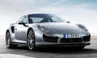 Future Porsche Models Appeal Porsche New 2014 911 Turbo Front Angle Future