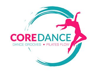 free logo word design dance logo design from 48hourslogo