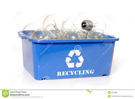 light bulb recycling royalty free stock photos image