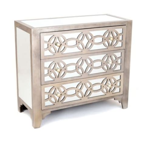 kirklands mirrored 3 drawer chest copy cat chic new furniture offerings from kirkland s