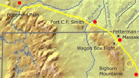 bozeman trail map montana history minute bozeman trail leads to two wars