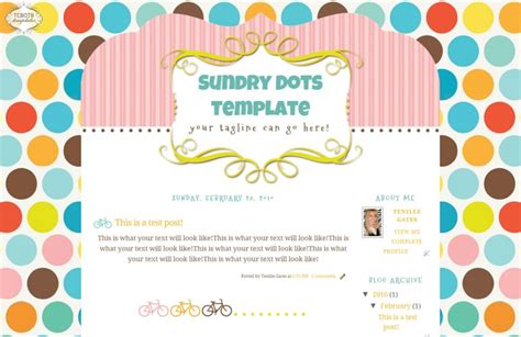 cute themes wordpress free sundry dots the cutest blog on the block