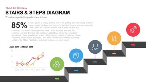 stairs steps diagram powerpoint keynote template slidebazaar