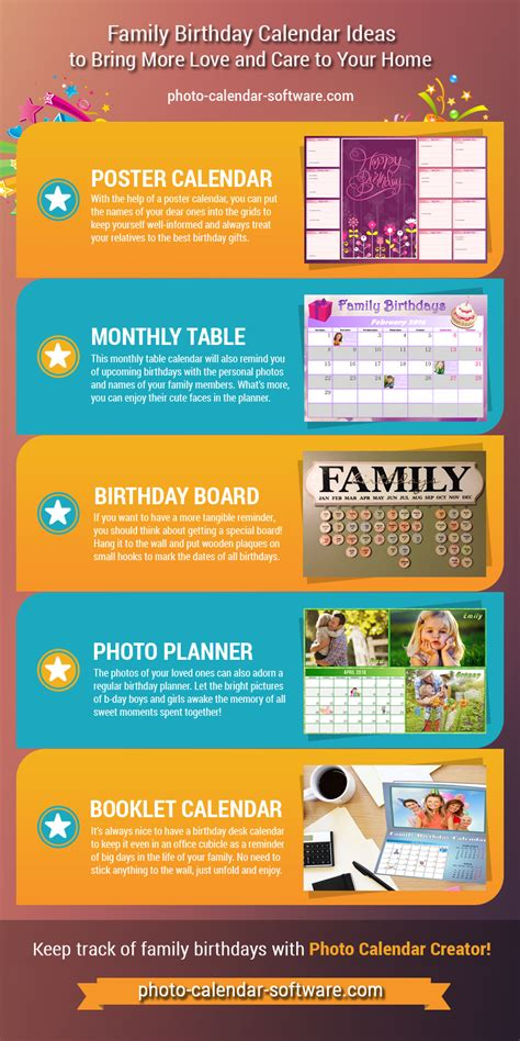 Family Calendar Ideas