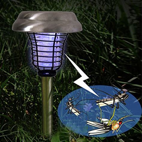 solar pathway lights amazon 2pack dual led bug zapper solar mosquito repeller uv bug