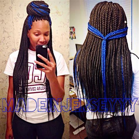box braids two colors best 20 blue box braids ideas on pinterest box braid