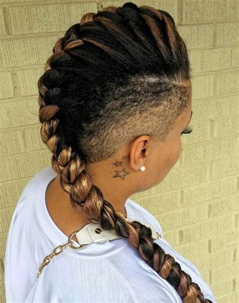 long cornrow hairstyles with shaved sides stunning goddess braids styles goddess braids inspiration