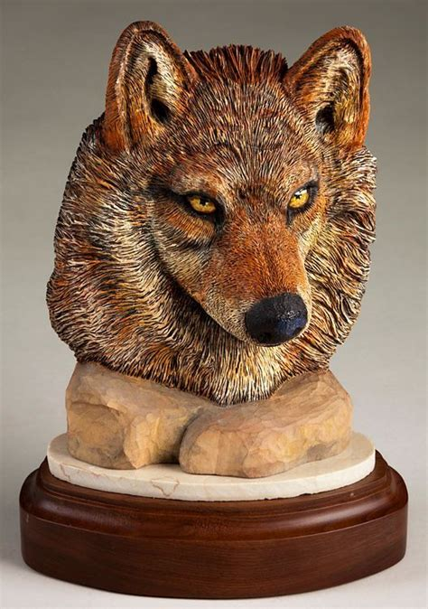 images  carved wooden dogs  pinterest