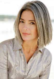 going gray gracefully from brunette bobs my hair and grey on pinterest