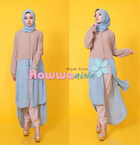 baju muslim terbaru dan terkini contoh gambar baju muslim modis untuk padupadan celana