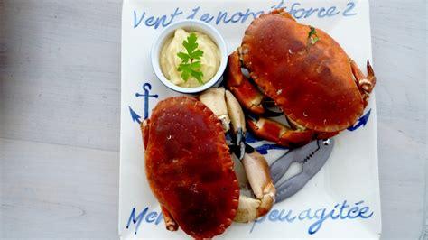 cuisson crabe dormeur le dormeur un crabe qui charme comme un tombeur de