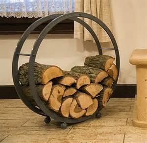 fireplace wood holder basket firewood rack fireplace wood d 70cm grey 80004