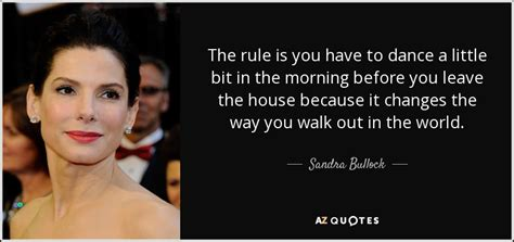 Bullock Quote Of The Day by Bullock Quote The Rule Is You To A
