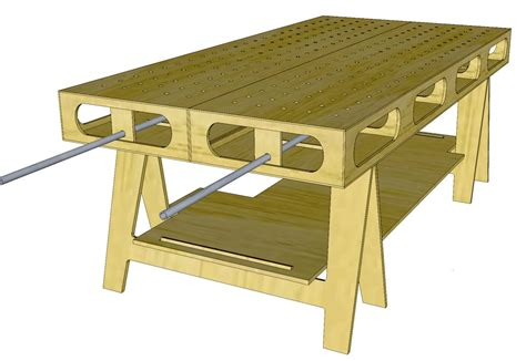 ultimate work bench thisiscarpentry