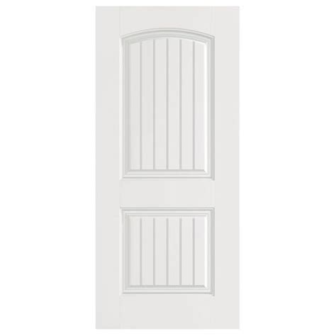 Masonite Interior Doors Styles Interior Doors Two Panel Arched And Grooved Masonite Doors Painted To Match The Trim Work