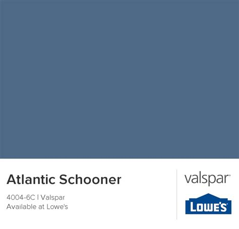 atlantic schooner from valspar paint