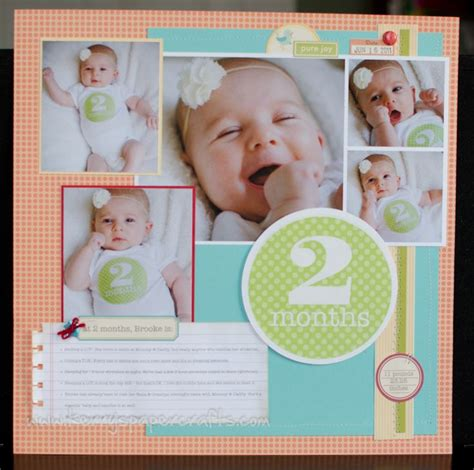 new years baby photo ideas 25 best scrapbook ideas baby on simple scrapbooking layouts baby scrapbook layouts