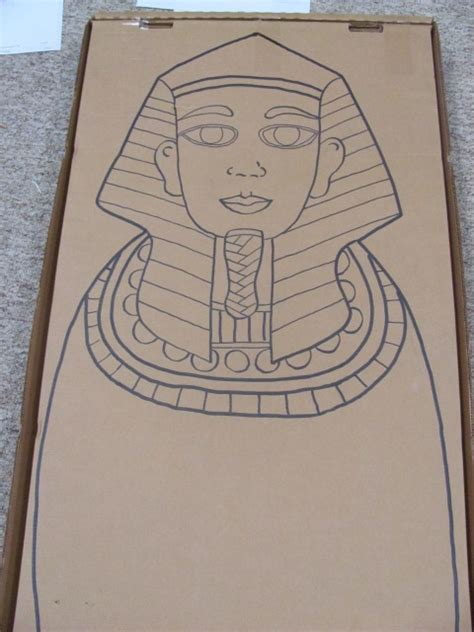 outline of sarcophagus dig up a good book pinterest