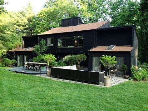 black wood paint exterior progress on our house s exterior