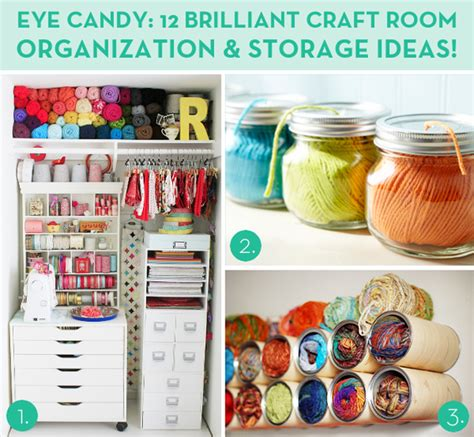eye 12 brilliant craft room organization and
