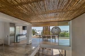 Villa Interior Design Techos De Madera Y Bamb 250 En La Casa Panda