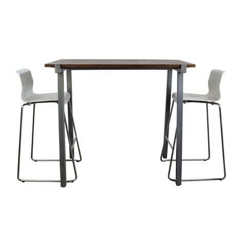 High Table And Chair Set by 44 Tobias Ghost Chair Chairs