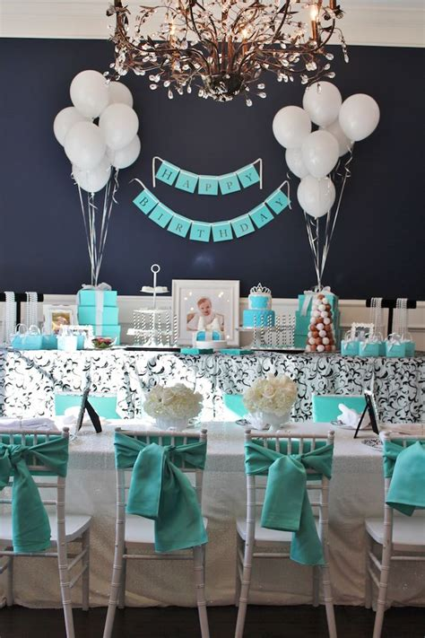 tiffany birthday party ideas birthday party ideas themes kara s party ideas breakfast at tiffany s birthday party