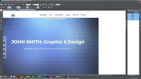 video tutorial xara web designer xara web designer tutorials