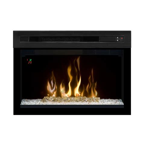 Modern Electric Fireplace Dimplex 25 In Multi Xd Curved Contemporary Electric Fireplace Insert Pf2325cg