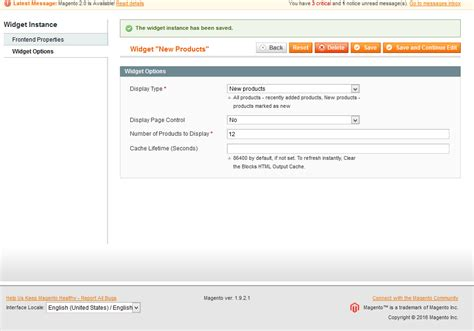 magento custom layout update view phtml magento display new products on the home page widget