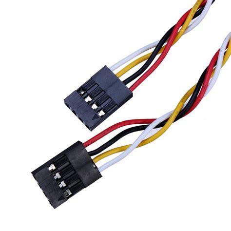 5pcs Kabel Jumper Arduino 20cm Dupon Cable 5 pcs 4 pin 20cm 2 54mm jumper wire cables dupont line for