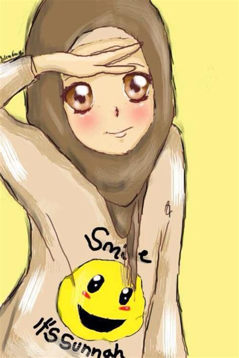 anime muslim 59 best hijab animasi images on pinterest anime muslim