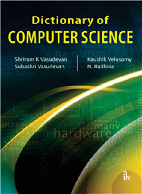 dictionary of computer science engineering and technology books engineering and computer science books in india