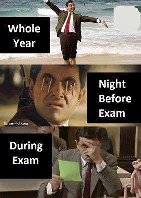 Exam Meme - funny exam meme