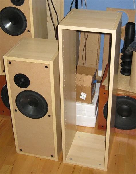 How To Make Old Kitchen Cabinets Look Better ikea kitchen cabinets to make bafflexchange speaker boxes