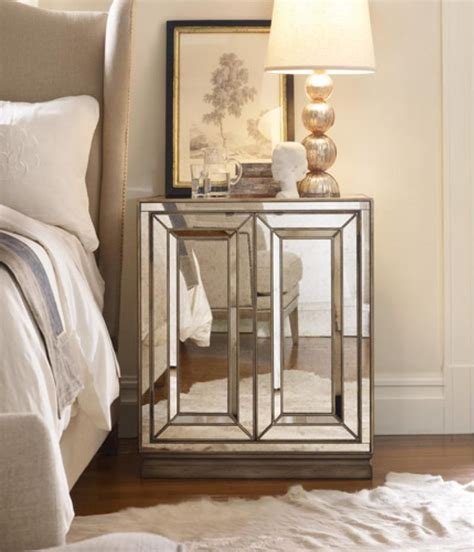 mirrored side table mirrored bedside table mirrored bedside table