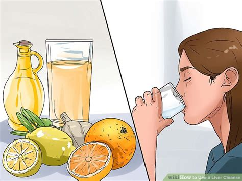 Doing A Lier Detox And Thirsty by How To Use A Liver Cleanse 7 Steps With Pictures Wikihow
