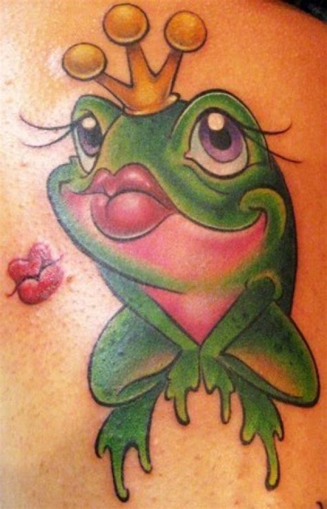 cute frog tattoo design ideas 2017 2018