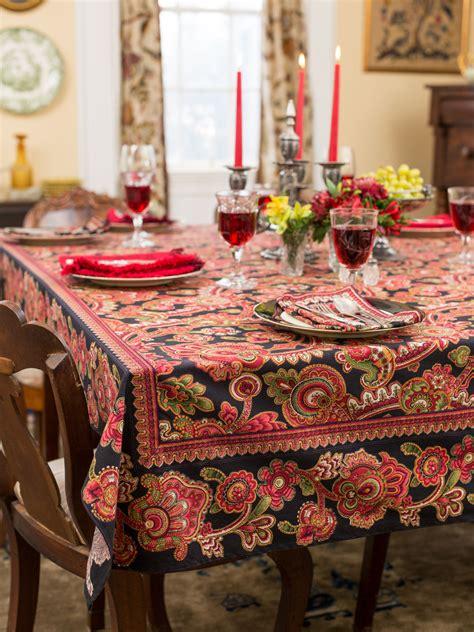 kitchen table linens s court tablecloth black linens kitchen