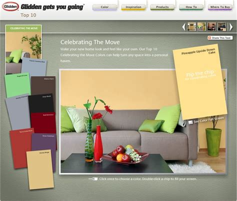 color palette glidden paint color palettes