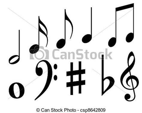 imagenes simbolos de musica stock de ilustraciones de s 237 mbolos m 250 sica negro m 250 sica