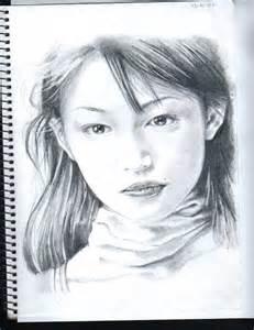 japanese idol pencil drawing 2 by isashi on deviantart