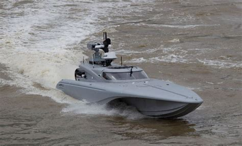 Drone Buat drone speedboats to be tested in drill quot unmanned warrior 2016 quot