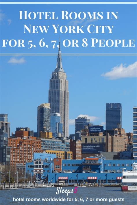 Nyc Hotel Rooms by New York City Hotel Family Rooms For 5 6 7 Or 8