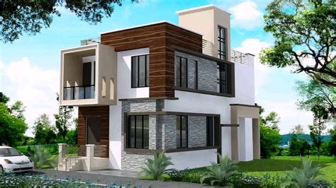 modern duplex house designs in india
