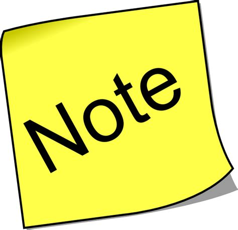 clipart notes note clip at clker vector clip