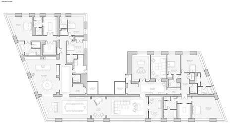 8 york street floor plans 551 west 21st street condominium manhattan scout
