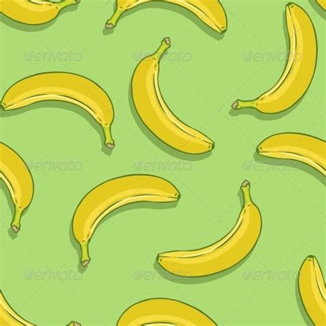banana wallpaper pattern vector seamless pattern of bananas on green background