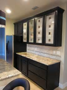 Frosted Glass For Kitchen Cabinets Photo