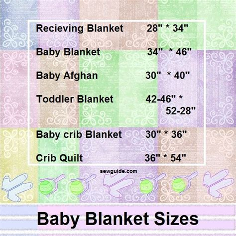 What Size Is A Baby Quilt by Your Baby S Blanket Quilt Size Sew Guide
